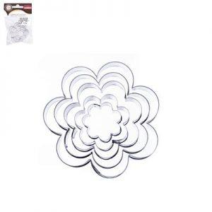 Vykrajovačka kvet 5ks