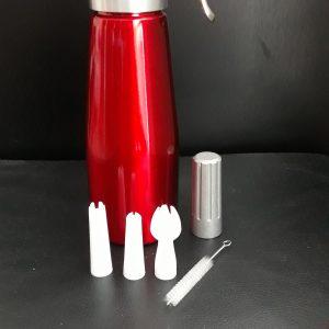 Fľaša na prípravu šľahačky 0,5l Banquet