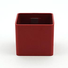 Magnetický kvetináč Cube 6cm červený