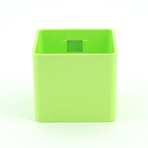 Magnetický kvetináč Cube 6cm zelený limetka