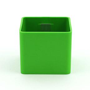 Magnetický kvetináč Cube 6cm zelená