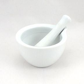 Mažiar biely keramický