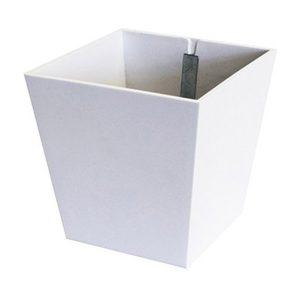 Magnetický kvetináč Pyramid biely