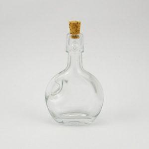 Sklenená fľaša 10cm