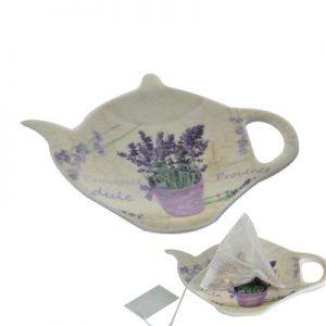 Tanierik na čaj levanduľa