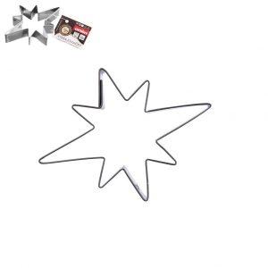 vykrajovačka hviezda 8x6