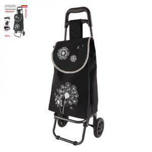Nákupná taška na kolieskach Flower