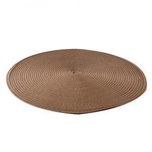 Prestieranie kruh 38cm hnedá