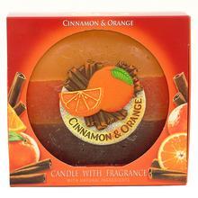 Sviecka oval pomaranc.skorica