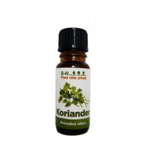 Koriander éterický olej