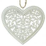 Srdiečko ornament kov