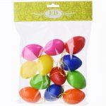 Vajíčka farebné 12ks