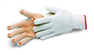 Bavlnené rukavice Cottonstar Grip