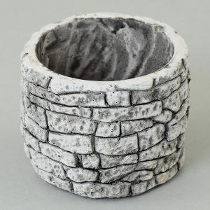 Kvetináč mini kameň okrúhly