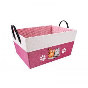 Úložný box detský ružový