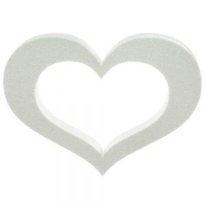 Srdce polystyrén