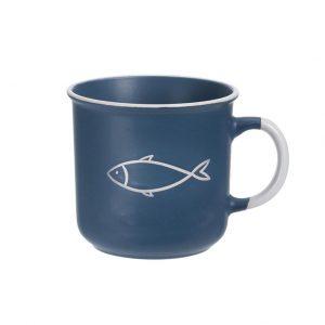 Hrnček námornícky ryba modrý