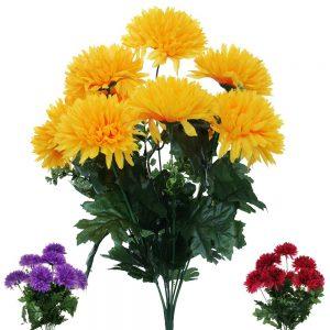 Kytica chryzantéma 45cm