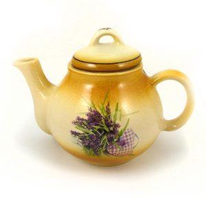Čajník levanduľa