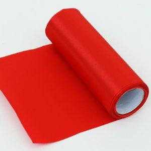 Saténová stuha červená 6m