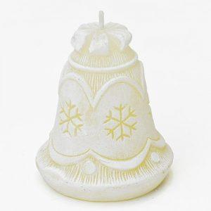 Sviečka zvonček krém