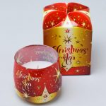 Voňavá sviečka v skle Vianoce v darčekovom balení
