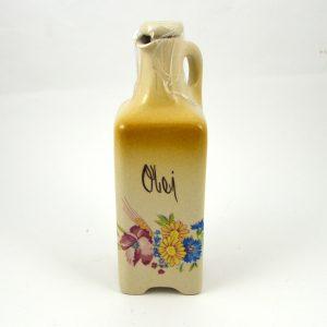 Fľaša na olej hranatá kvety