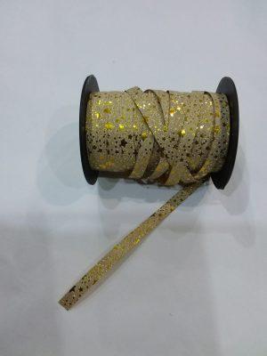 Stuha papierová zlatá