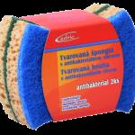 Špongia tvarovaná antibakteriálna 2ks