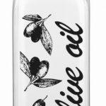 Fľaša na olivový olej sklo750ml