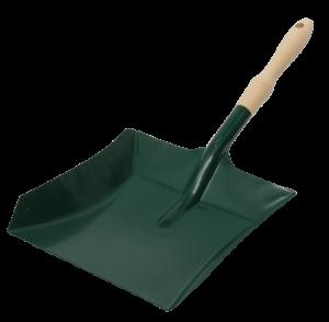 Lopatka kovová s drevenou rúčkou