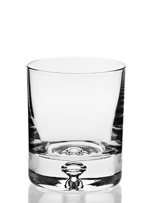 Sklenený pohár na whisky 4ks