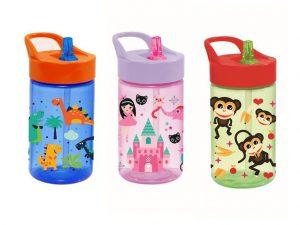 Detská fľaša so slamkou Kids