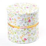 Darčeková krabička kvety valec