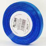 Stuha satén 10mm modrá č.121